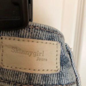 Skinnygirl Jeans Skirts - Denim Blue Skirt SKINNY-GIRL JEANS Studded  NWT